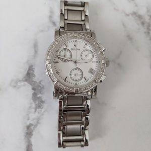 Bulova Accessories - Bulova Diamond Chronograph Ladies Watch